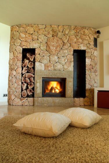 Update Your Fireplace With a Quick Paint Job