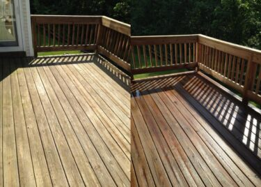 Power Washing Your NJ Deck